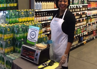 Mid-Atlantic region demos for Whole Foods and Mybread